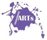 Trowbridge arts logo mauve