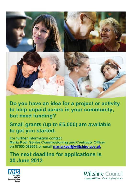 Grants for carers flyer M Keelv2