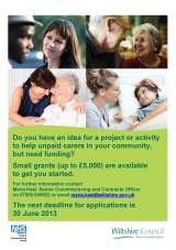 Funding: Small Grants for Carers