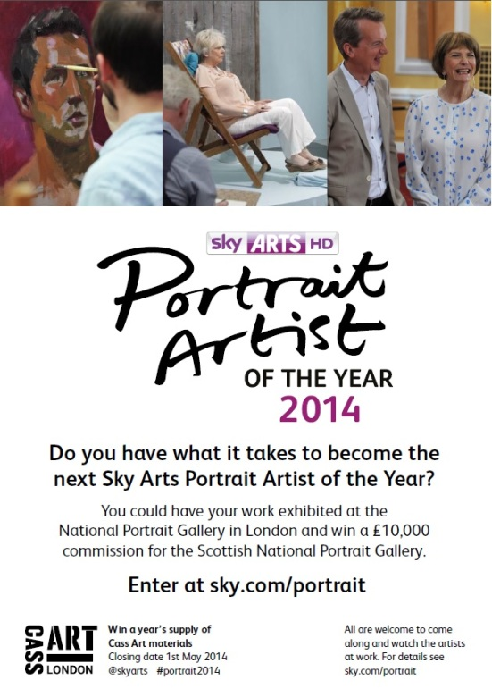 PORTRAIT ARTIST OF THE YEAR 2014