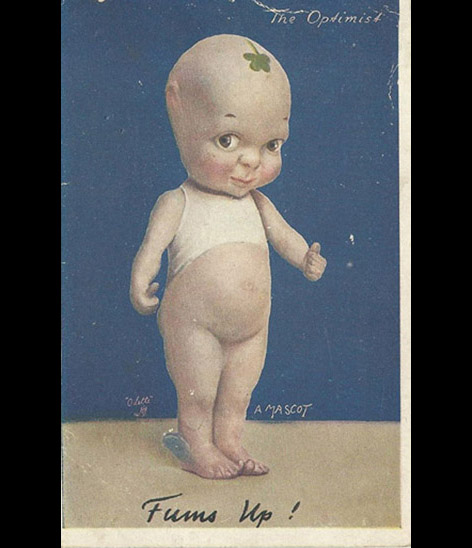 Fums Up Postcard