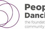 People Dancing – the new name for the Foundation for Community Dance