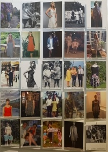 Display of favourite shift dress images received from the public Photo Credit: David Kennedy