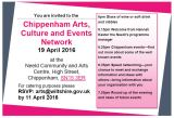 Networking: Chippenham Arts, Culture and Events Network
