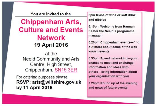 Chippenham ACE event 19April2016 invite