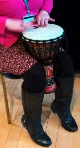 Wiltshire Music Connect drumming