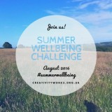 Networking: Summer Wellbeing Challenge 2016, Creativity Works