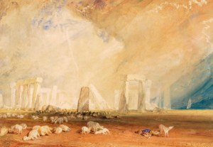 Stonehenge, Wiltshire, c 1827-28, by JMW Turner. Copyright The Salisbury Museum