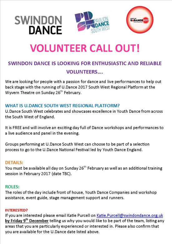 swindon-dance-volunteer-callout