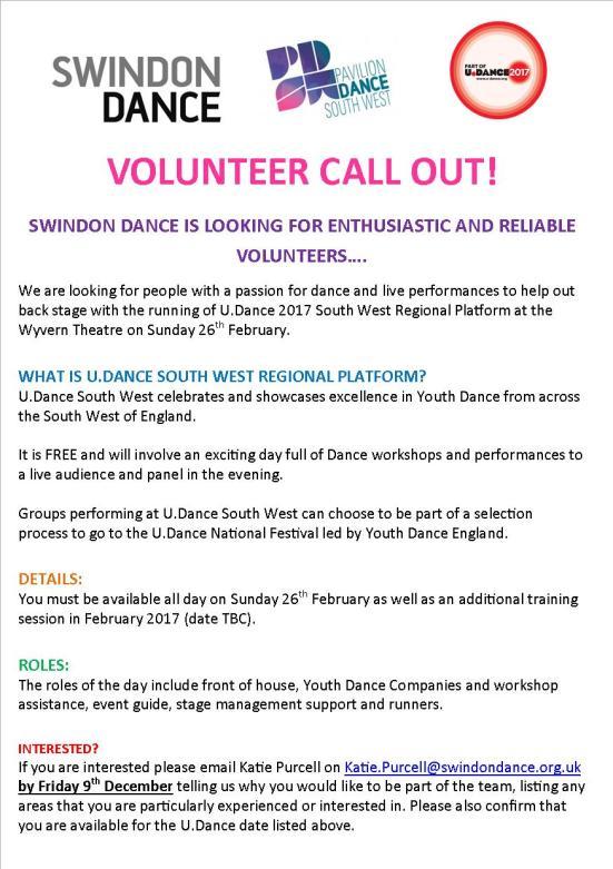 swindon-dance-volunteer-callout