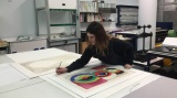 Guest blog: Archive Conservator Sarah Volter talks about a project to conserve two works of art on paper.