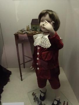 C1885 Boys clothes. Salisbury Museum