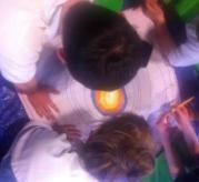 Rowdeford School pupils